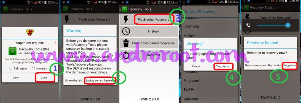 How to Flash custo recovery in any android smartphone