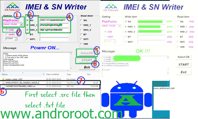 How To Solve Invalid IMEI and Serial Number Problems - Andro