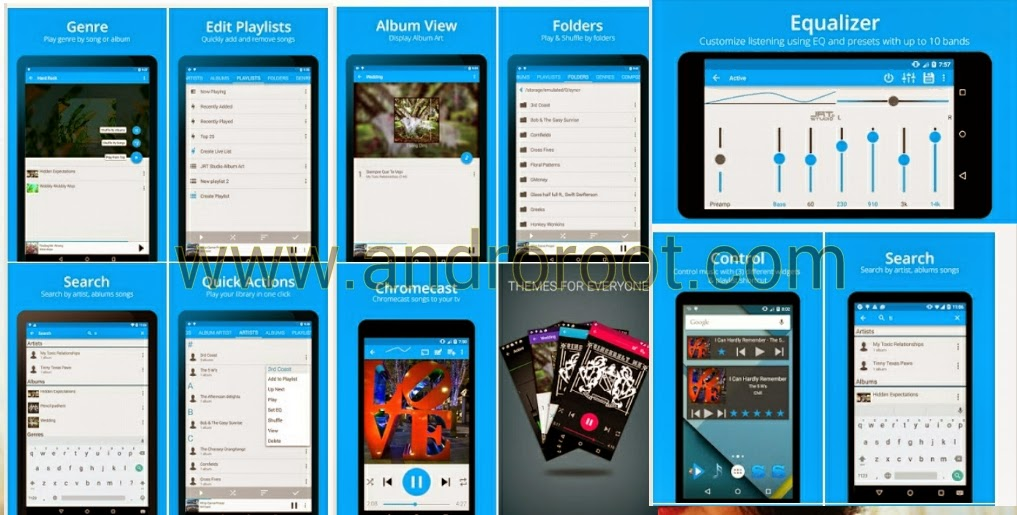Top 10 Music player for android Smartphone my favourite