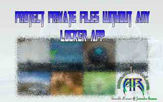 Andro Root-how-to-protect-private-files-without-any-app-Andro Root