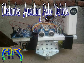 How to make an Obstacle Avoiding robot using Arduino L293d