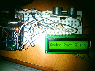 How to make a Distance Measuring Device with Automatic Alarm-Androoot.com