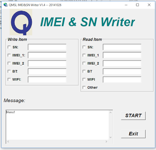 How to solve imei