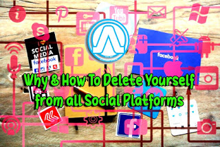 How to Delete Yourself from all Social Platforms