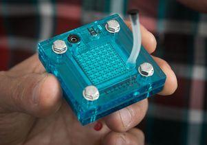 Flexible Salt-Powered Battery