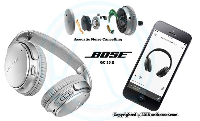 QC 35 II with Acoustic Noise Cancelling Andro Root
