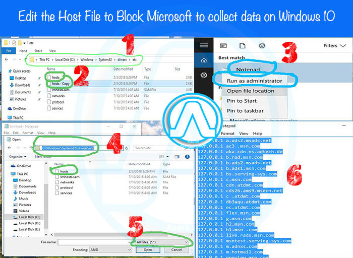 Best Method to Block Microsoft to collect data on Windows 10 How to Block Microsoft to collect data on Windows 10