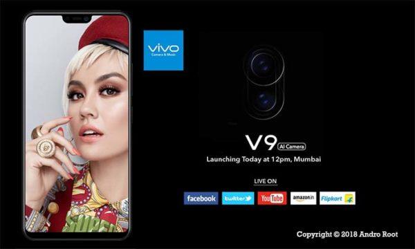 Vivo V9 launch in India Pre-Order Vivo V9 in India