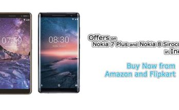 Offers on Nokia 7 Plus and Nokia 8 Sirocco in India