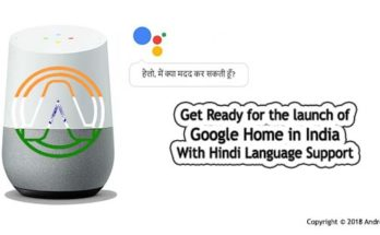 launch of Google Home in India With Hindi Support
