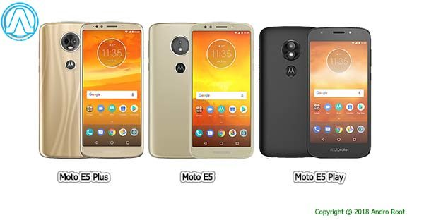 Moto E5, E5 Plus, and E5 Play price