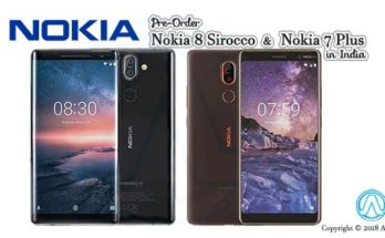 Pre-Order Nokia 8 Sirocco and Nokia 7 Plus in India