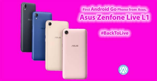 Asus ZenFone Live L1 Specification