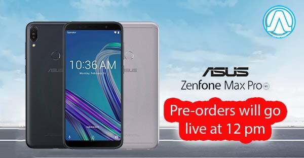 Pre-Order Asus ZenFone Max Pro M1 via Flipkart Today