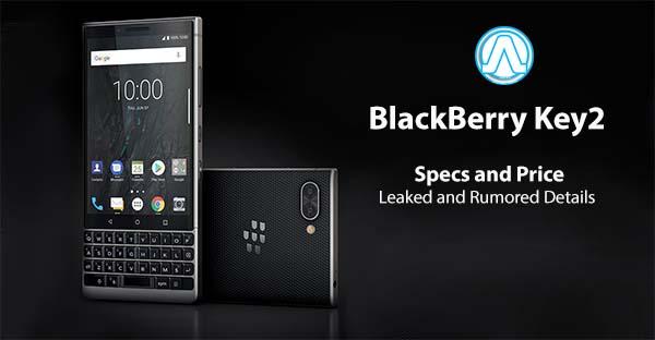 BlackBerry Key2 Specs and Price