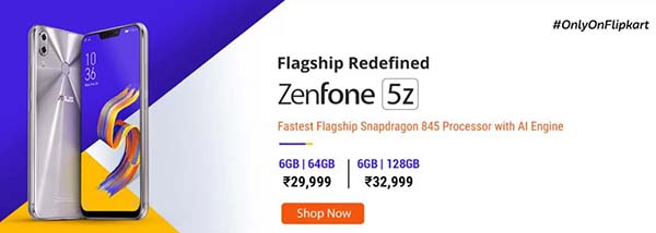 Buy Asus ZenFone 5Z Offers and Price in India