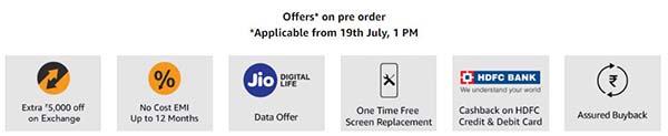 Vivo Nex Pre Order Offers on Amazon.in