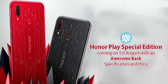 Honor Play Special Edition: Specification and Price