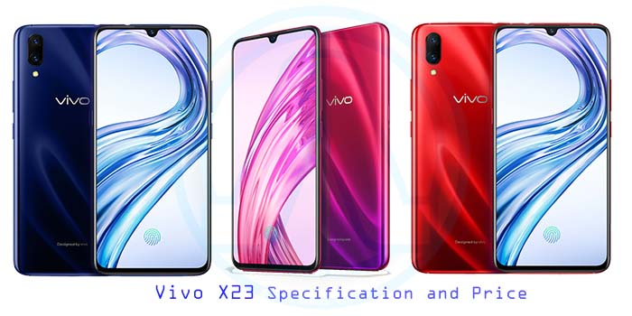 Vivo X23 Specification and Price in India: Coming Soon